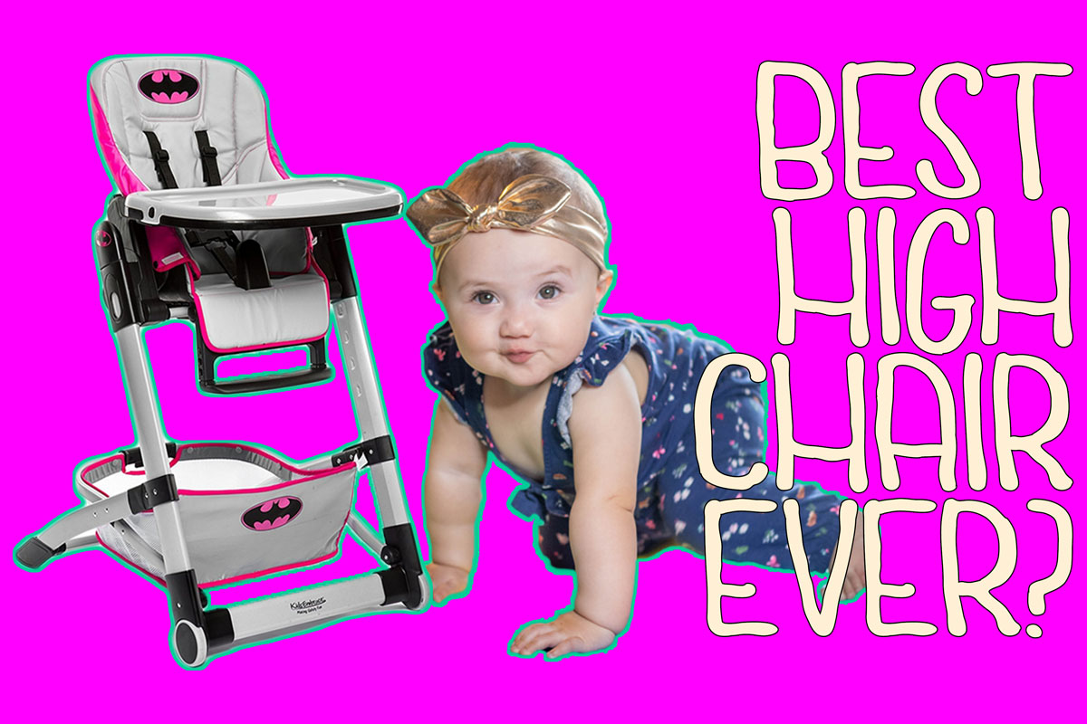 The BEST kids HIGH CHAIR ever?