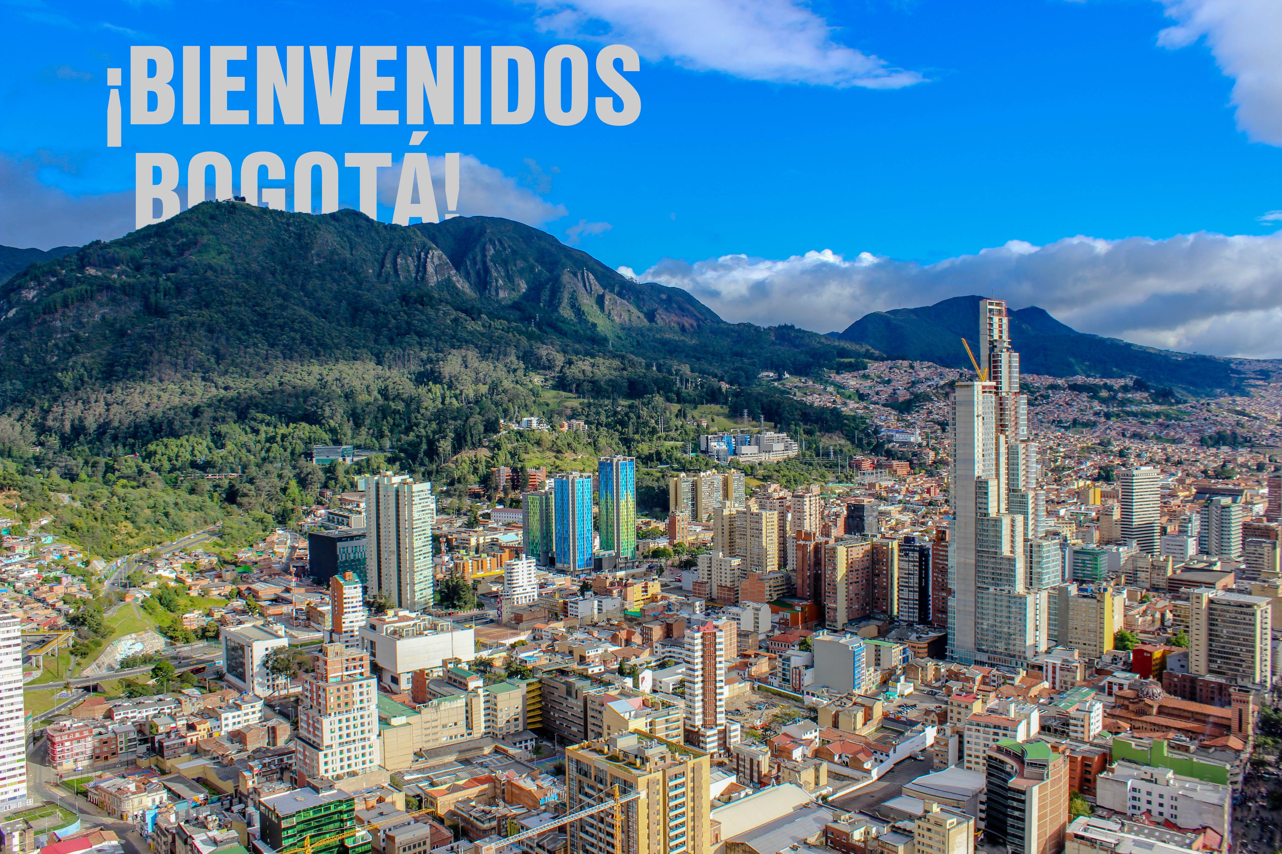 ¡Bienvenidos Bogotá!