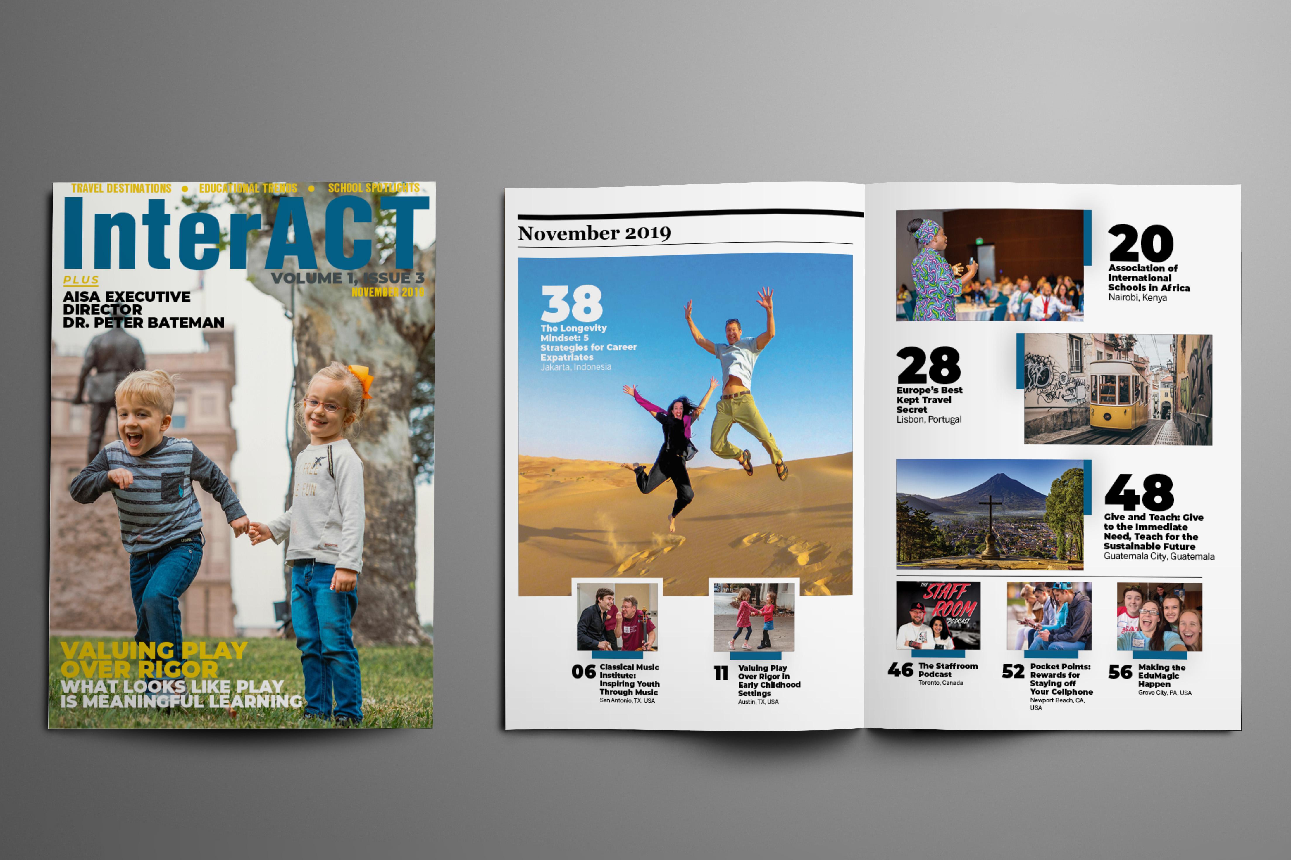 InterACT Magazine Volume 1 Issue 3