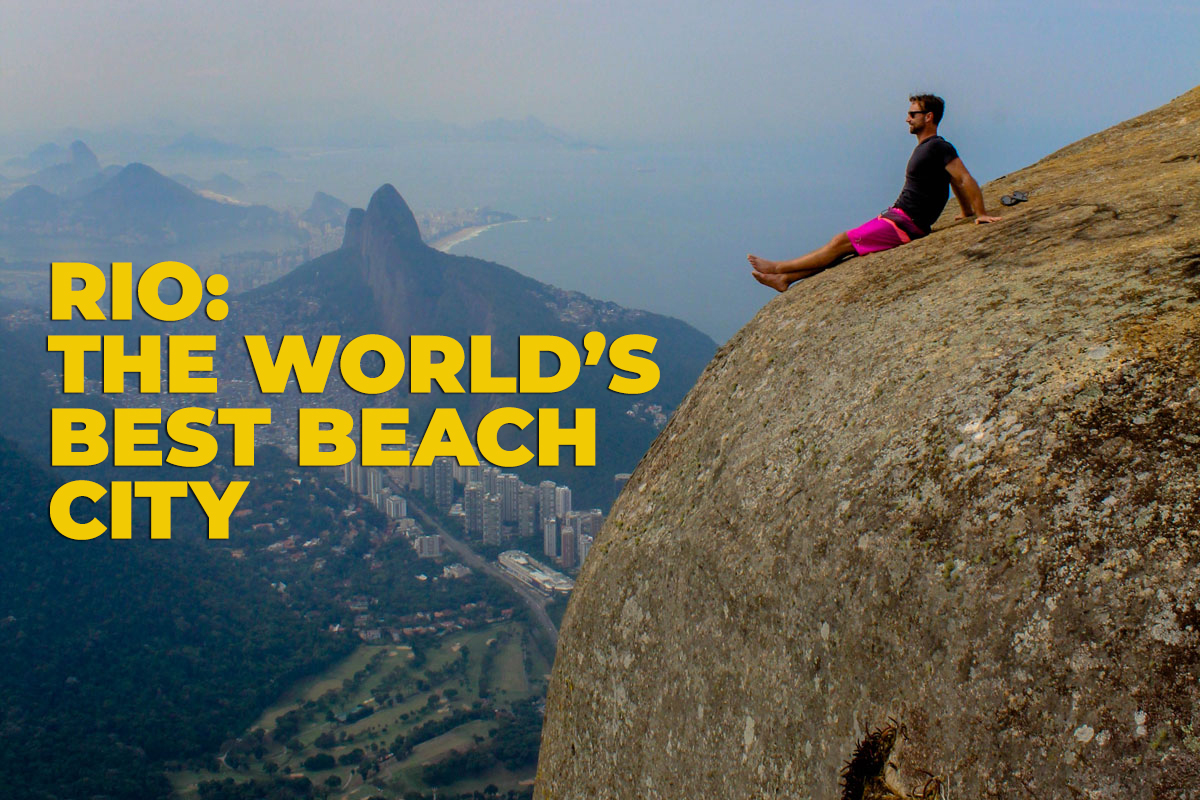 Rio: The World's Best Beach City