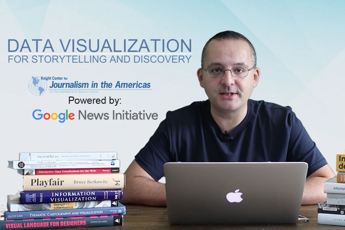 Data Visualization for Storytelling and Discovery with Alberto Cairo