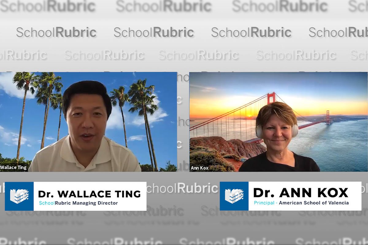 """""""Kids are not coming back to the same school"""" – Ann Kox 