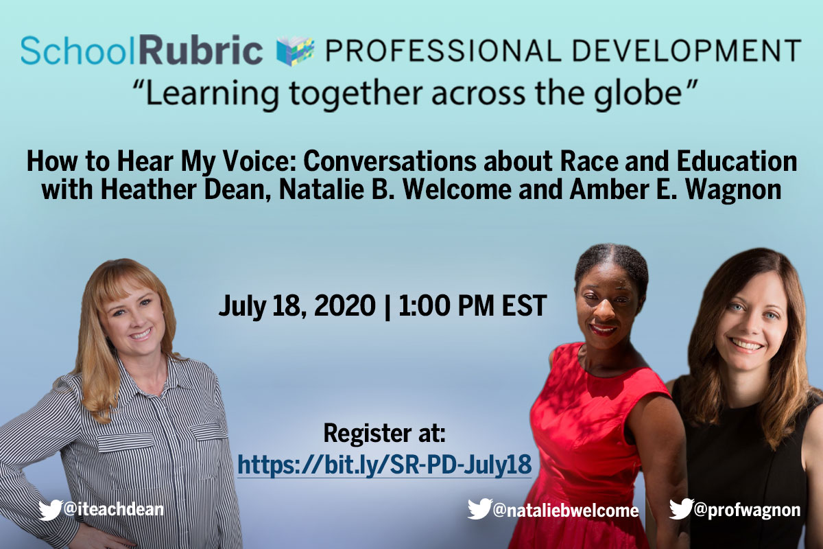 Conversations about Race and Education | SchoolRubric Professional Development