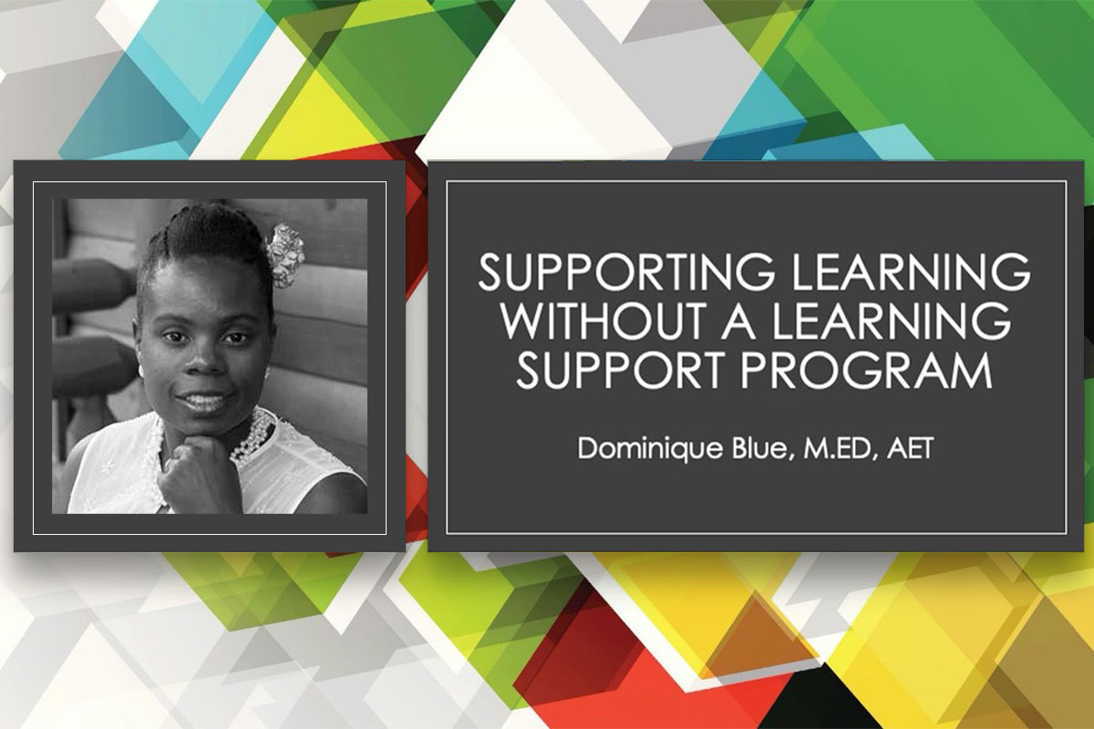 Supporting Learning Without a Learning Support Program – Dominique Blue | SchoolRubric